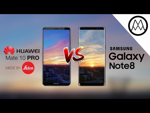 Huawei Mate 10 Pro vs Samsung Galaxy Note 8 Camera Test Comparison
