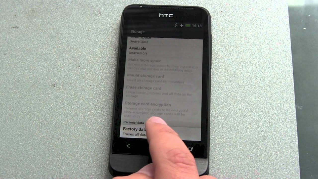 Phone Is Htc One An Android Phone how to reset your android phone htc one v youtube v