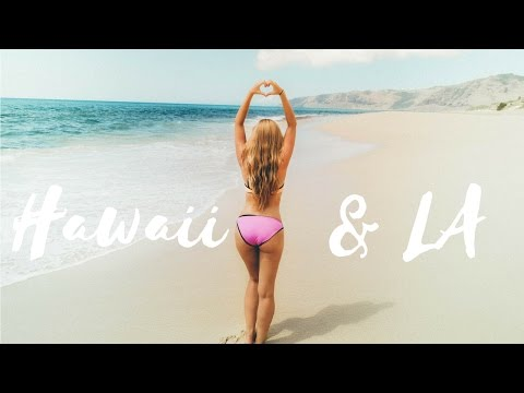 Vlog z podróży ♡  CUDOWNE Hawaje & Los Angeles / USA: Hawaii & Los Angeles travel video