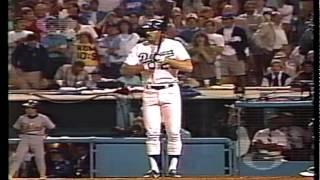 Baja del 9no. Inning del Juego 1 De La Serie Mundial de 1988 - Dodgers vs. Athletics - En Español