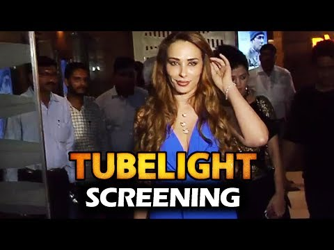 Thumbnail: Salman की गर्लफ्रेंड Iulia Vantur At Tubelight Movie Screening