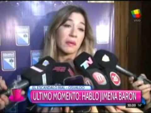"""Jimena Barón, sobre el cruce Osvaldo-Rial: """"Se hubiesen juntado a tomar un café"""""""