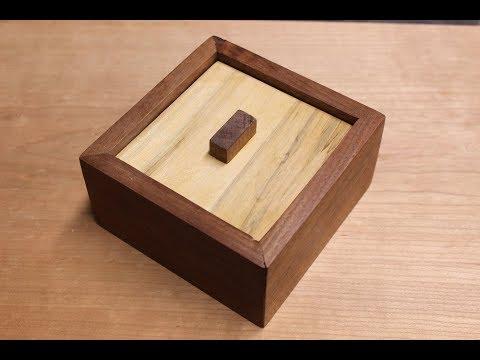 Wooden Puzzle Box Demo