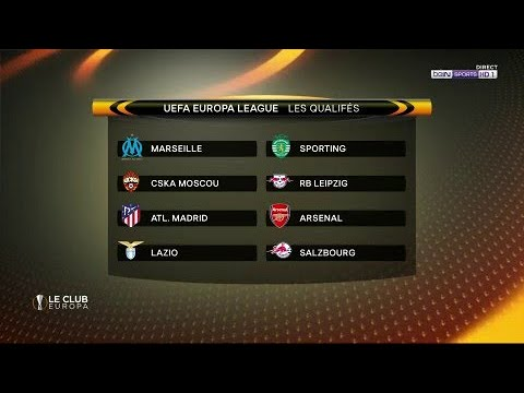 🏆 UEFA Europa League ⚽️ 🔴🔮 Suivez en direct le tirage au sort des 1/4 de finale !