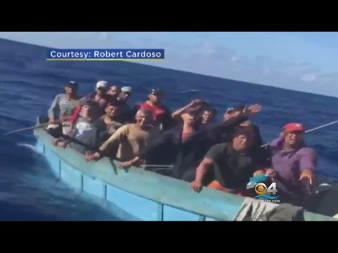 Exclusive: Boaters Come Across Cuban Migrants Trying To Reach US Soil