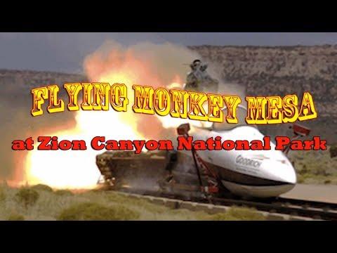 Flying Monkey Mesa at Zion Canyon National Park