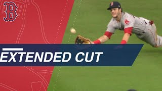 Watch an extended cut of Andrew Benintendi's game-ending catch