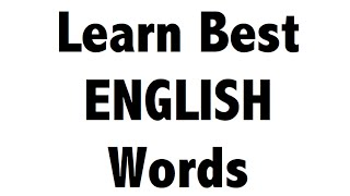 Learn Vocabulary English Words in HINDI - IBPS PO + Clerk , SSC CGL + CHSL