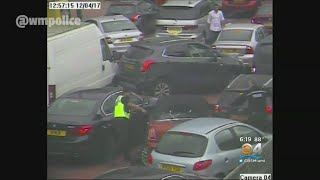 Watch: London Car Thief Slams Into Traffic To Escape Police