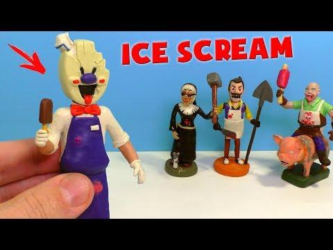 Как слепить мороженое
