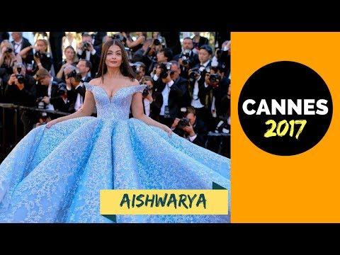 Aishwarya Rai Bachchan at Cannes 2017 | Red Carpet (Cinderella)