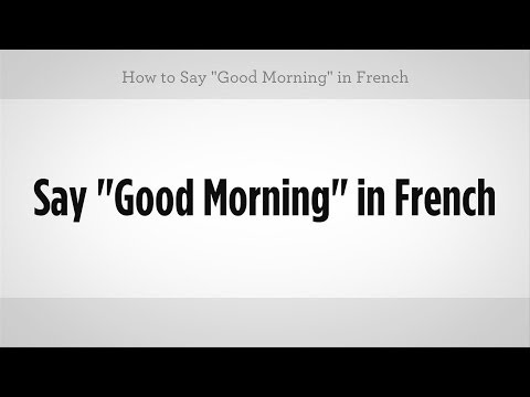 how to say play in french