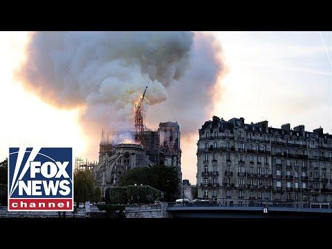 Paris in shock after fire destroys Notre Dame Cathedral