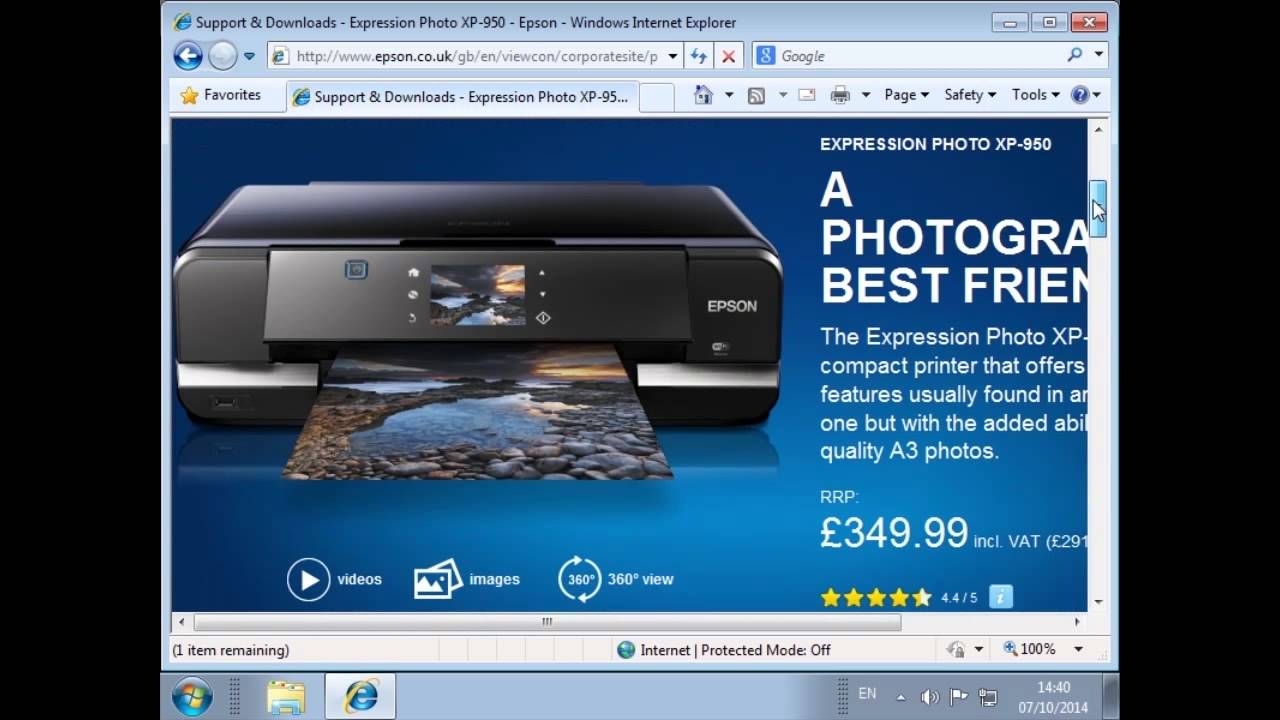 Epson photo printing software free download for windows 7