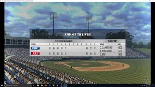 MLB Front Office Manager PLAYABLE in 4K on RPCS3 PS3 Emulator