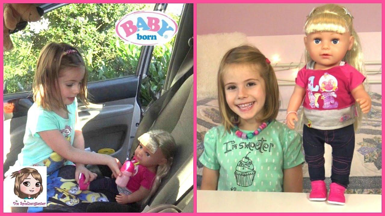 BABY BORN SISTER holt Hannah aus dem Urlaub ab ...