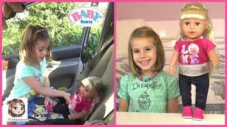 BABY BORN SISTER holt Hannah aus dem Urlaub ab ♥ Interaktive Puppe die weint | Zapf