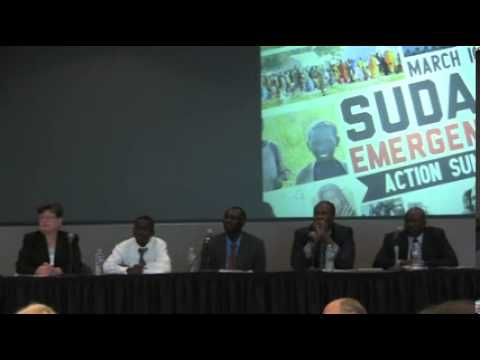 Sudan Emergency Action Summit: Panel: The Future for Sudan
