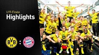 Highlights: U19-Finale: Borussia Dortmund - FC Bayern München 8:7 n.E.