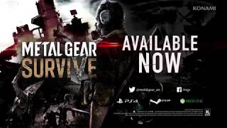 Metal Gear Survive - Official FINAL Trailer (New Survival Action Game 2018)