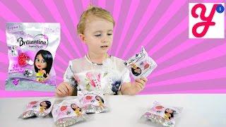 Колечки Briliantina пакетики с сюрпризом Blind packs Briliantina kids rings