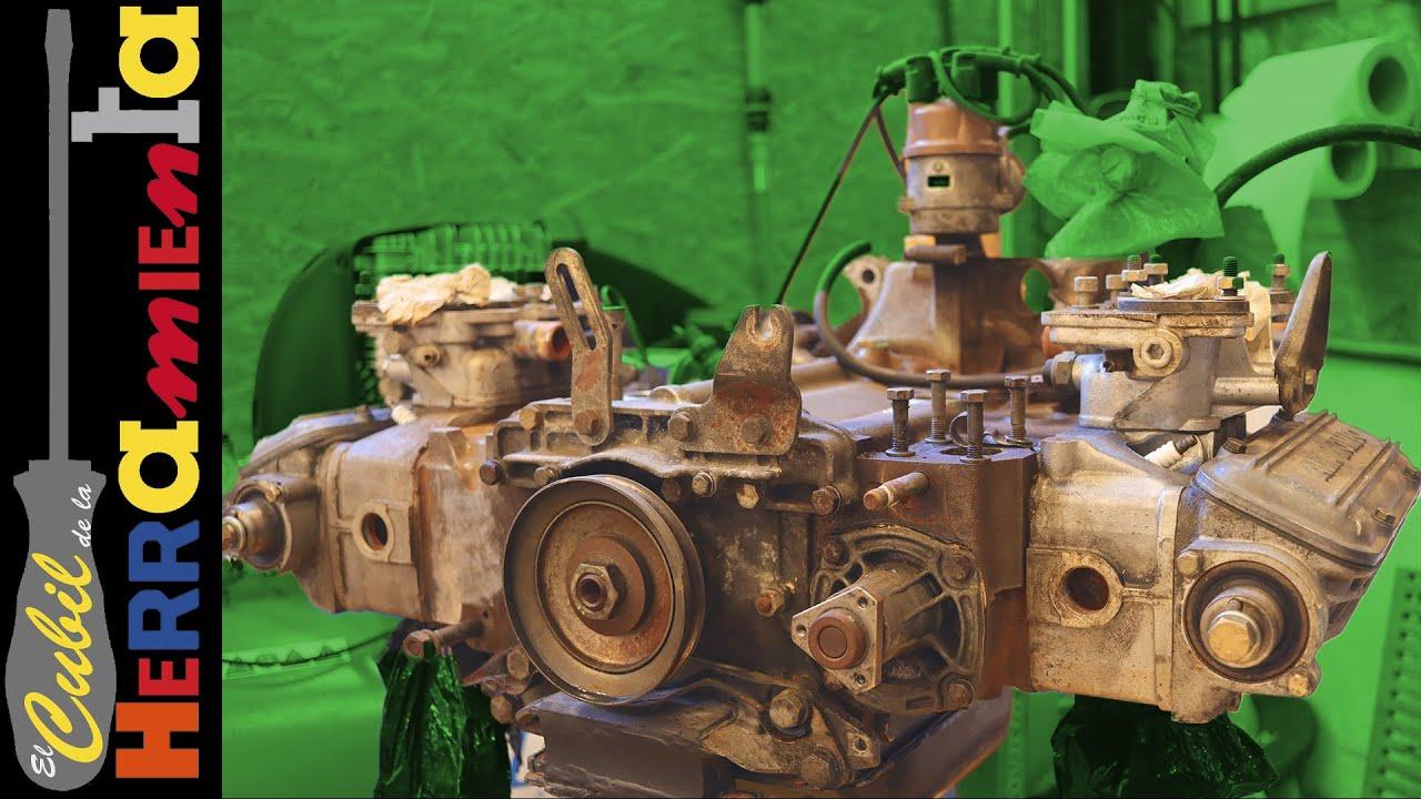 Desmontaje motor Boxer Alfa Romeo 33