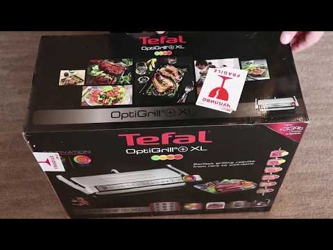 Тест Tefal OptiGrill XL GC722D34