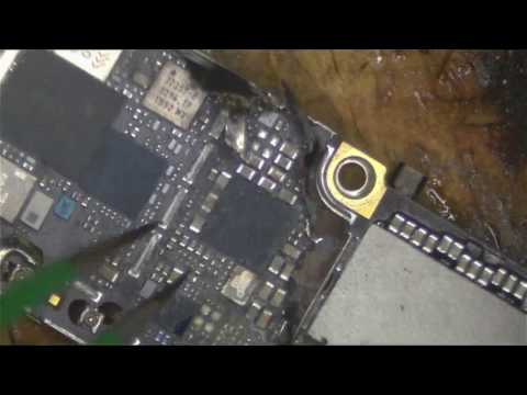 Jason tries to fix a liquid damaged phone(for DATA RECOVERY)