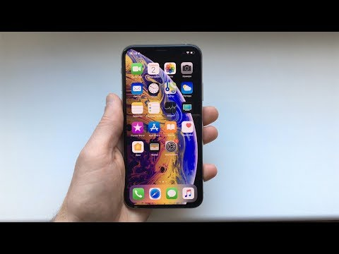 Распаковка IPhone Xs Silver / Unboxing IPhone Xs Silver (2019)