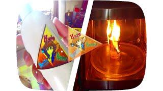 HERMY SHAMPOO ★ MIKROWELLE on FIRE