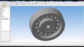 Создать чертеж из 3D модели Компас