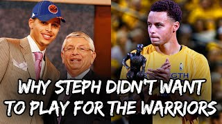 Why Steph Curry told the Warriors NOT to Draft Him