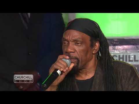 Jamaican legend Glen washington performs on Churchill Show