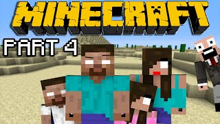 If Herobrine had a Family - Minecraft Part 4