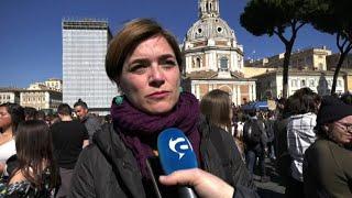 Clima, in piazza a Roma Muroni (LeU): stiamo rubando il futuro