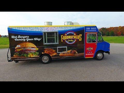 fuddruckers food truck built by prestige food trucks youtube. Black Bedroom Furniture Sets. Home Design Ideas