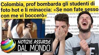 PROF: «SE NON FATE S***0 CON ME VI BOCCIO!» - Notizie #13