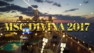 MSC Divina 2017 vacation. This is a detailed ship tour and review o...