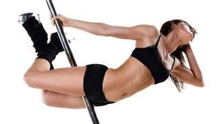 Танцевальный фитнес  Видеоурок pole dance Fitness Motivation