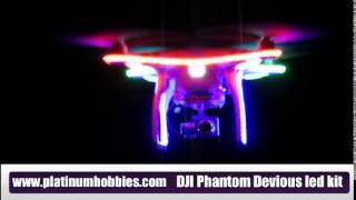 DJI Phantom Devios led light kit, For all Phantom models