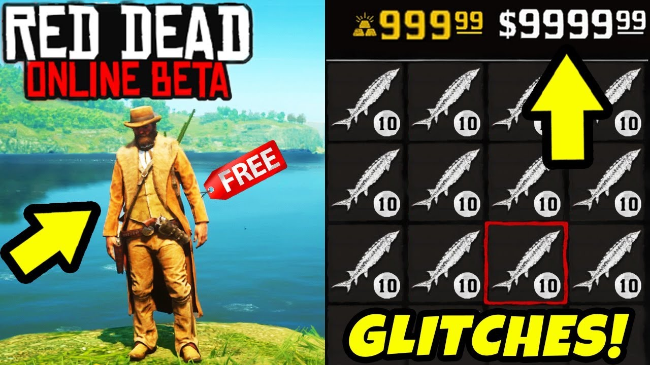 *NEW* BEST MONEY GLITCHES & XP EXPLOITS in Red Dead Online! Fast Money & UNLIMITED Item Tips RDR2!