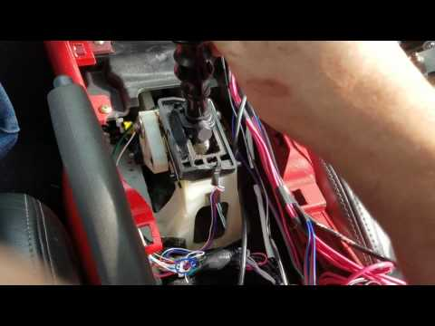 How to plan for manual gear indicator.