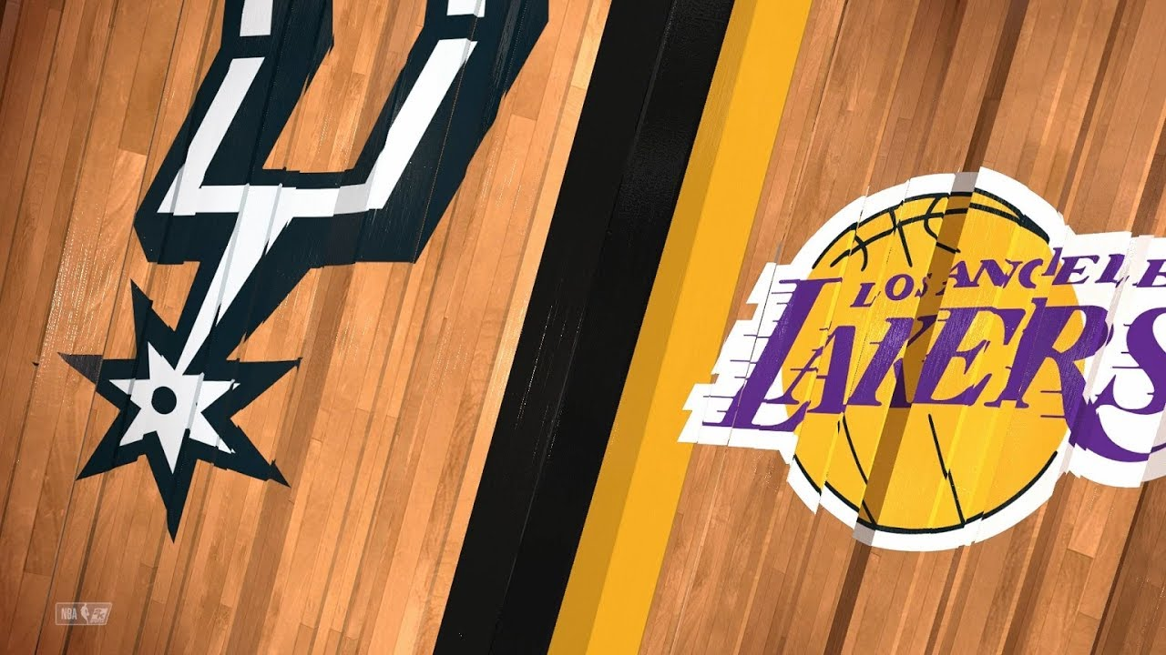 38cfd29ea San Antonio Spurs vs Los Angeles Lakers