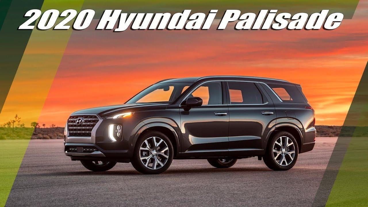2020 hyundai palisade - exterior and interior design