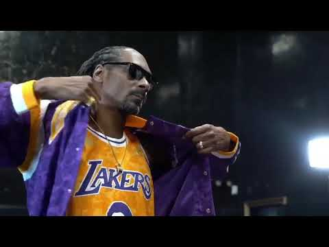 Lakers Nation  BAPE® x MITCHELL   NESS Collection Look Book featuring Snoop  Dogg 87bad250b