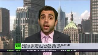 'It puts Israel in group of Cuba, N  Korea and Sudan'   HRW director on work permit refusal