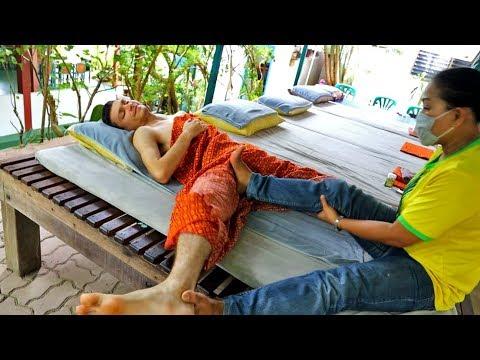 ASMR Strong Thai Massage With Mega Cracks (Neck, Ear, Shoulder Blades Etc.)