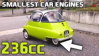 12 Of The Smallest Engines Installed In Cars