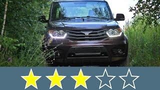 УАЗ Пикап (2015): Жесткость кузова