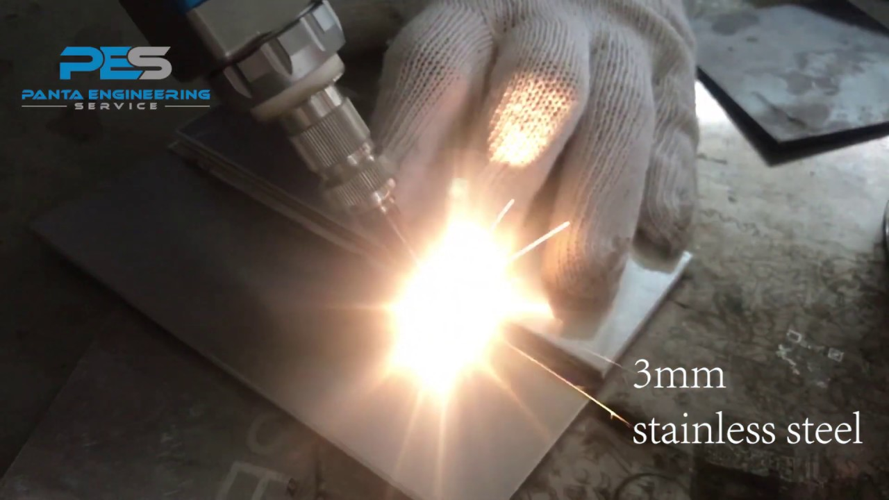 Hand Held Laser Welding Machine Youtube